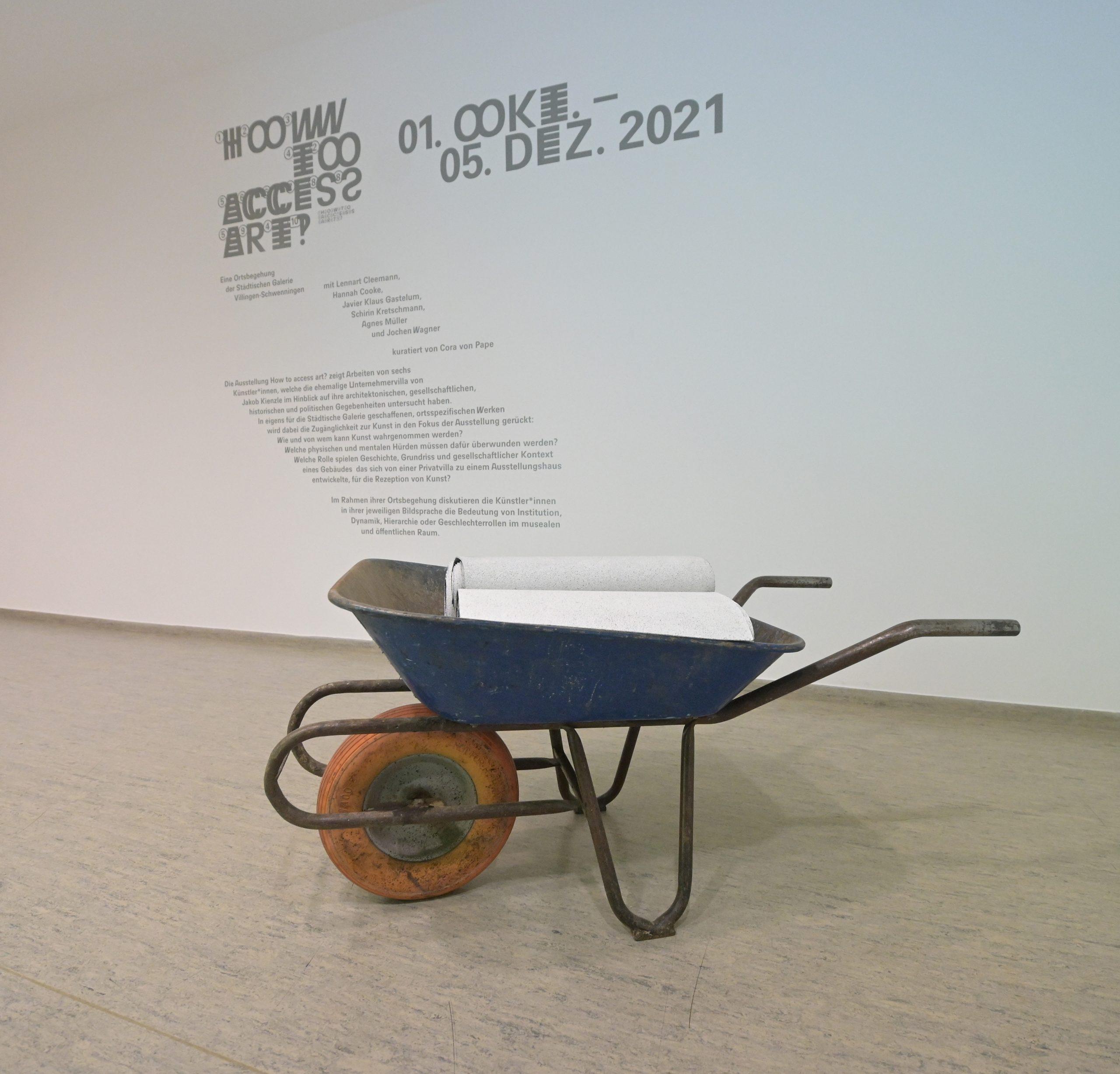 Agnes Müller, Querung, 2021